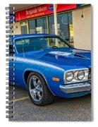1974 Plymouth Roadrunner Spiral Notebook