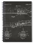 1975 Space Vehicle Patent - Gray Spiral Notebook