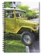 1976 Toyota Landcruiser Spiral Notebook