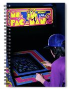 1980s Anonymous Teen Girl Wear Baseball Spiral Notebook