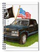 1988 Chevrolet M I A Tribute Spiral Notebook