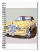 1988 Rolls  Royce's Corniche Convertible  Spiral Notebook