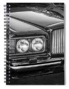 1990 Bentley Turbo R Bw Spiral Notebook