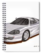 1991 Mercedes Benz C 112 Concept Spiral Notebook