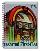 1995 Jukebox Stamp Spiral Notebook