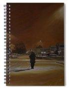1997-my First Snowy Winter Spiral Notebook