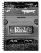 1999 Chevrolet Corvette Bw  Spiral Notebook