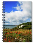 19th Century Duncannon Lighthouse Spiral Notebook