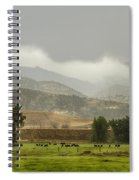 1st Day Of Rain Great Colorado Flood Spiral Notebook