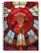 1st Order Fresnel Lens Spiral Notebook