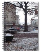 1st Snow Public Square Spiral Notebook