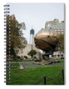 1w T C And The W T C Fountain Sphere Spiral Notebook