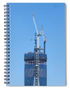 1wtc Antenna Erection Spiral Notebook