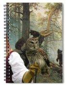 Irish Setter Art Canvas Print Spiral Notebook