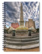 002 Heart Of The Queen Spiral Notebook