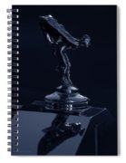 1930 Rolls Royce Emblem II Spiral Notebook