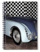 1936 Bugatti 57g Tank Spiral Notebook