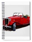 1953 M G T D  Spiral Notebook