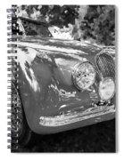 1954 Jaguar Xk 120 Se Ots  Bw Spiral Notebook