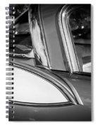 1957 Studebaker Golden Hawk Bw Spiral Notebook