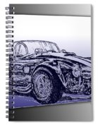 1965 Shelby Ac Cobra Spiral Notebook