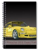 1997 Porsche  993 Twin Turbo Spiral Notebook