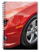 2012 Chevy Camaro Ss  Spiral Notebook
