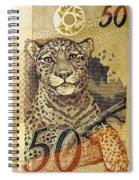 50 Reais Spiral Notebook