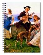 A Days Outing Spiral Notebook