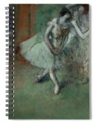 A Group Of Dancers Spiral Notebook