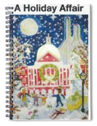 A Holiday Affair Spiral Notebook