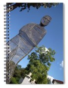 Minujin's A Man Of Mesh Spiral Notebook