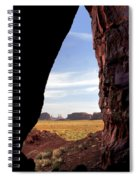 A Monument Valley View Spiral Notebook