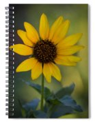 A Sunflower  Spiral Notebook