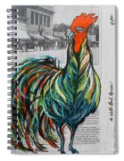 A Well Read Rooster Spiral Notebook
