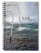 A World War Fountain Spiral Notebook