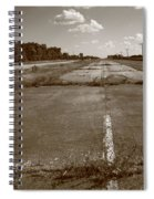 Abandoned Route 66 Spiral Notebook