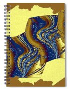 Abstract Fusion 177 Spiral Notebook