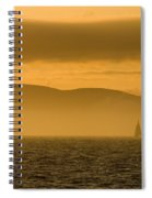 Acadia National Park Sunset Spiral Notebook