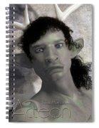 Actaeon Greek  Spiral Notebook