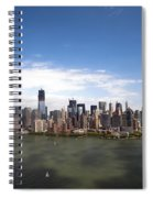 2-aerial View Of Manhattan Spiral Notebook