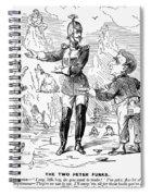 Alaska Purchase Cartoon Spiral Notebook