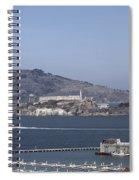 Alcatraz, C1998 Spiral Notebook