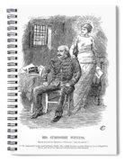 Alfred Dreyfus (1859-1935) Spiral Notebook