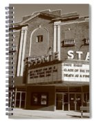 Alpena Michigan - State Theater Spiral Notebook