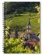 Alsace Church Spiral Notebook