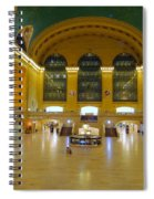 2 A.m.grand Central Station  Spiral Notebook