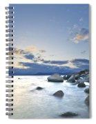 An Evening At Tahoe Spiral Notebook