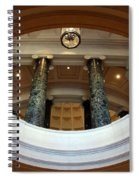 An Oculus Spiral Notebook