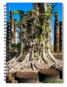 Ancient Temple Ruins Spiral Notebook